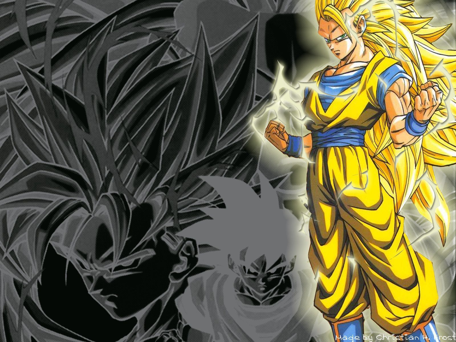 Google chrome themes dragon ball z - Dragon Ball Z Goku Wallpapers Wallpaper Cave