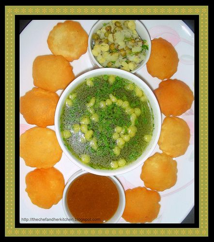 THE CHEF and HER KITCHEN: Golgappe / Golgappa / Pani puri