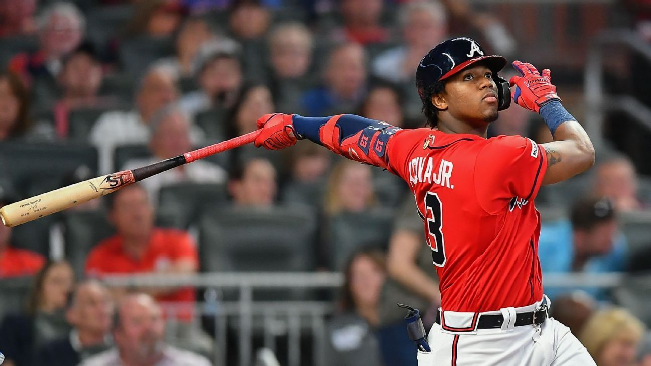 Passan One Year In Is Ronald Acuna Jr Ready To Claim Best Player In Baseball Title Best Player Atlanta Braves Braves