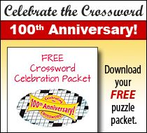 Get Your Free Crossword Puzzle Packet It S The Year Of The