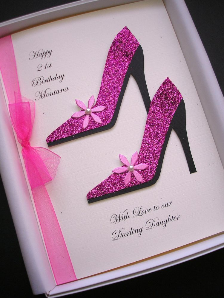BIRTHDAY SHOES CARD eBay 50th birthday cards, 18th