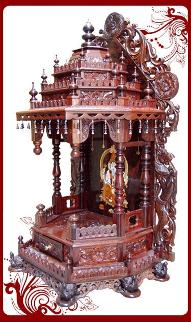 Pooja Room Door Carving Designs Google Search: Rosewood Temple Designs For Home