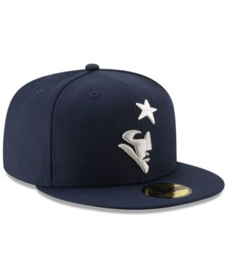 52932bc1 New Era New England Patriots Logo Elements Collection 59FIFTY Fitted Cap -  Blue 7 1/8