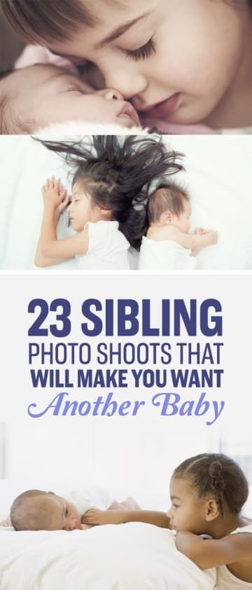 23 Sibling Photo Shoots That Will Make You Want Another Baby