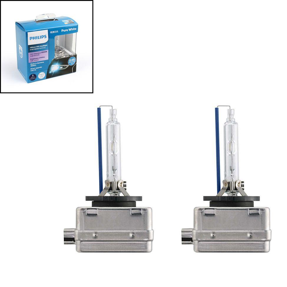 Genuine Philips 42403 Ultinon Hid Xenon Car Headlight Bulbs D3s 6000k 42v 35w Headlight Bulbs Car Headlight Bulbs Hid Xenon