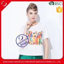 2015 custom 100% polyester women white tee shirt with printing Best seller follow this link http://shopingayo.space
