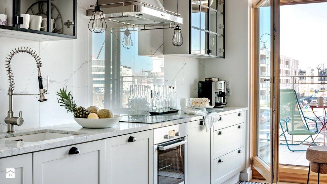 Biała Kuchnia Marmur W Kuchni Trendy Kuchenne Kuchnia