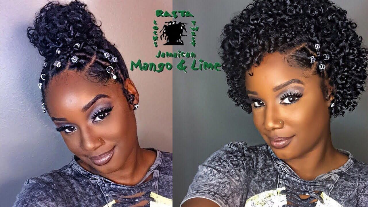 Make your basic natural hairstyles lit feat jamaican mango and