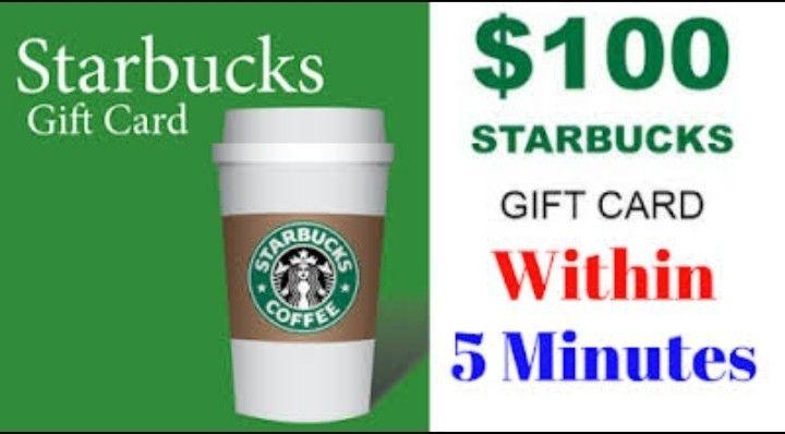 free starbucks gift card generator