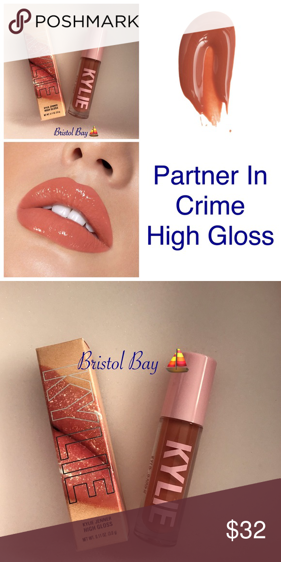 Authentic Kyliexjordyn Partner In Crime High Gloss Kylie Jenner Lip Kit Lip Balm Gloss Lipgloss Swatches