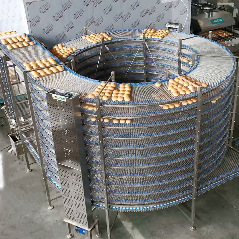 Bread Food Cooling Cooler Bread Making Machine Cooler Food