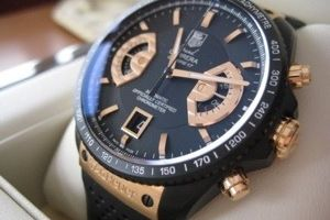 Gold & Black Tag Heur (With images) | Tag heuer watch, Tag
