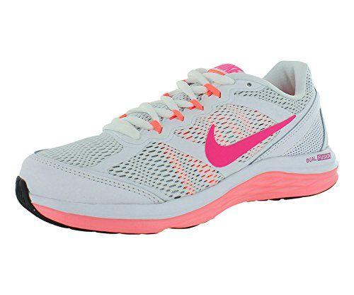 Nike Dual Fusion Run 3 Sz 11 Womens Running Shoes White New In Box Nike http