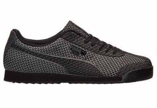 Puma Roma Woven Mesh Shoe features Woven material finish. Signature logo  design and Lace-up fastening. Padded cuffs for extra comfort. Textured  tread. 00f309965