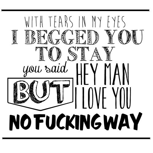 The Front Bottoms Twin Size Mattress Music Quotes Lyrics Lyrics Front Bottoms
