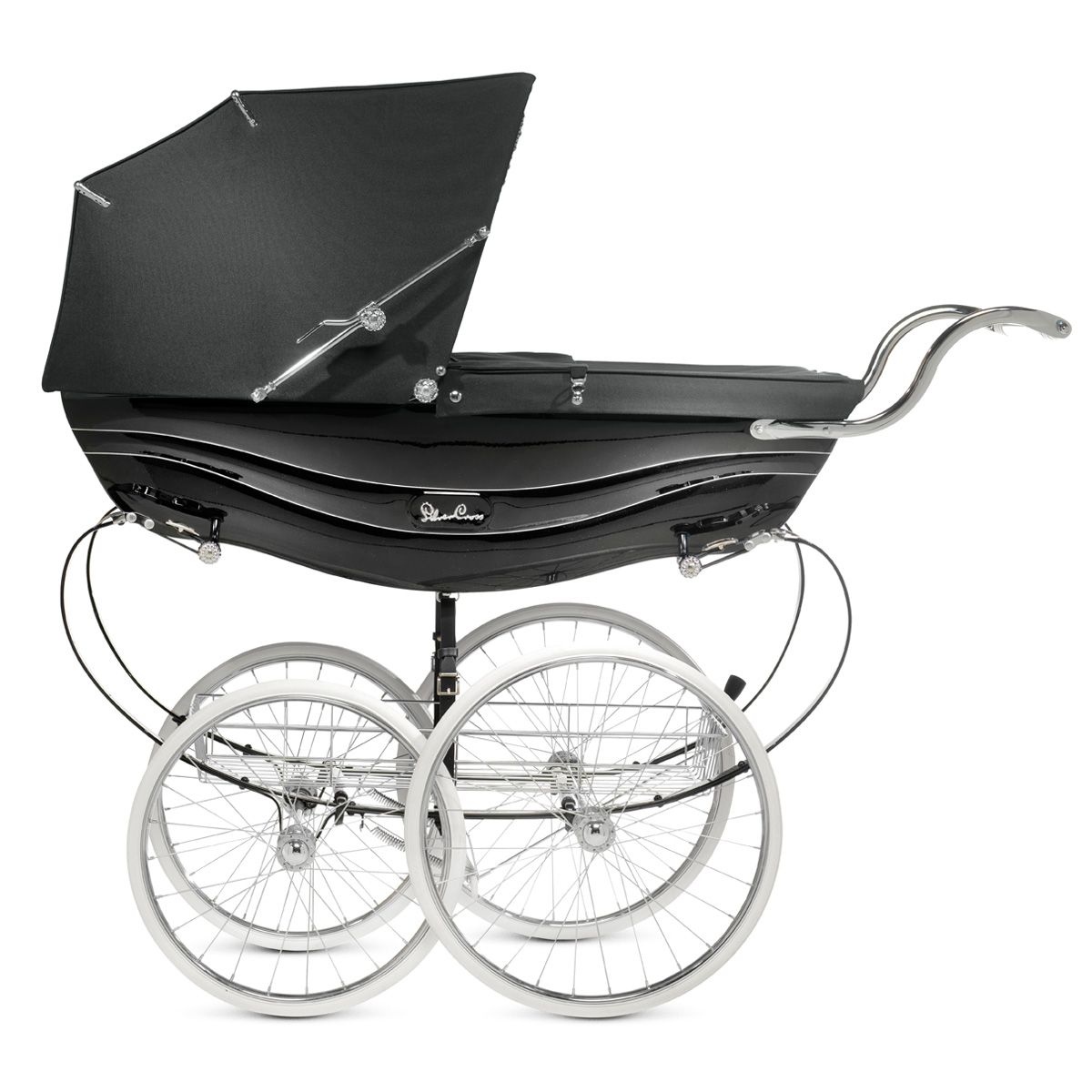 The Silver Cross Balmoral Coach Built Pram Shown Here In