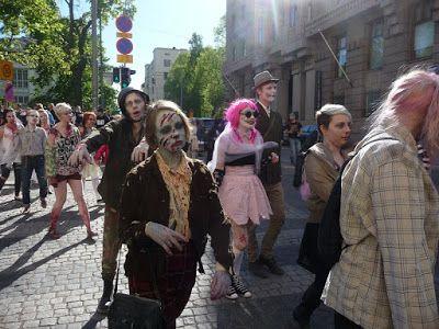 Matkojeni blogi: Zombie Walk 2015 Ruttopuisto, osa 3