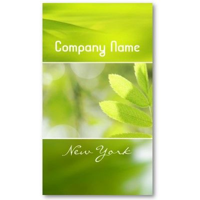 Green environmental business card eco business pinterest green green environmental business card colourmoves Images