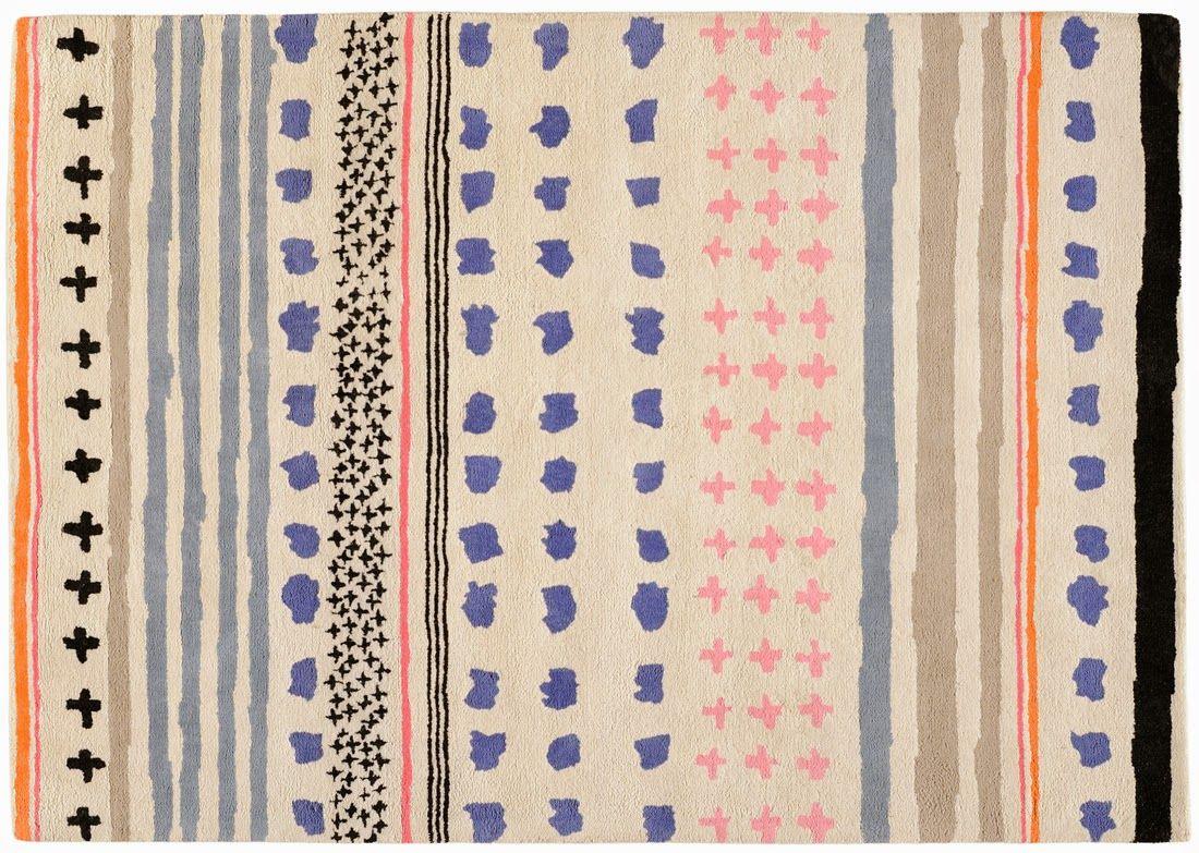Paris / Collection de tapis par Inès de La Fressange chez Toulemonde ...