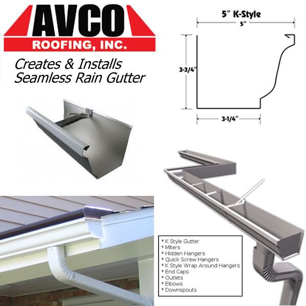 East Texas Www Avcoroofing Com We Ll Create Install Seamless Rain Gutters Before The Rains Come Roofing Gutter Rain Gutters Roofing Metal Roof Tiles