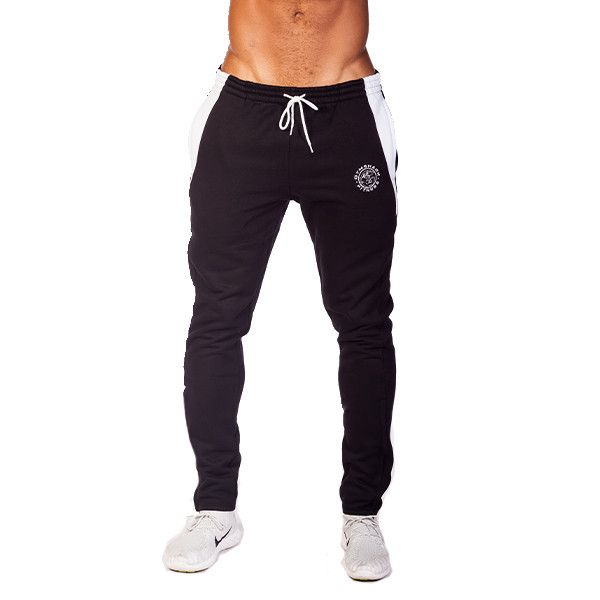 82b7dd7538 GymShark Luxe Fitted Bottoms Black/White Mens bottoms | GymShark ...