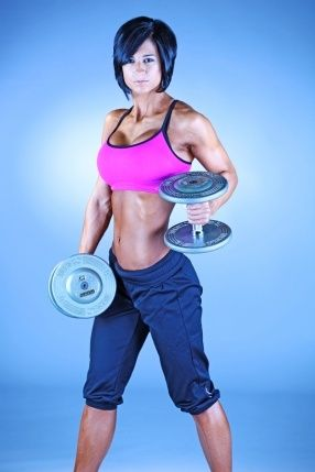 Cristina Vujnich - another fit-female I admire. fitness-stuff