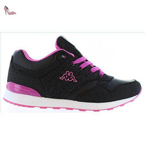 Chaussures de sport pour Garçon et Fille et Femme KAPPA 303PSZ0 CLAW 939  BLACK-PINK