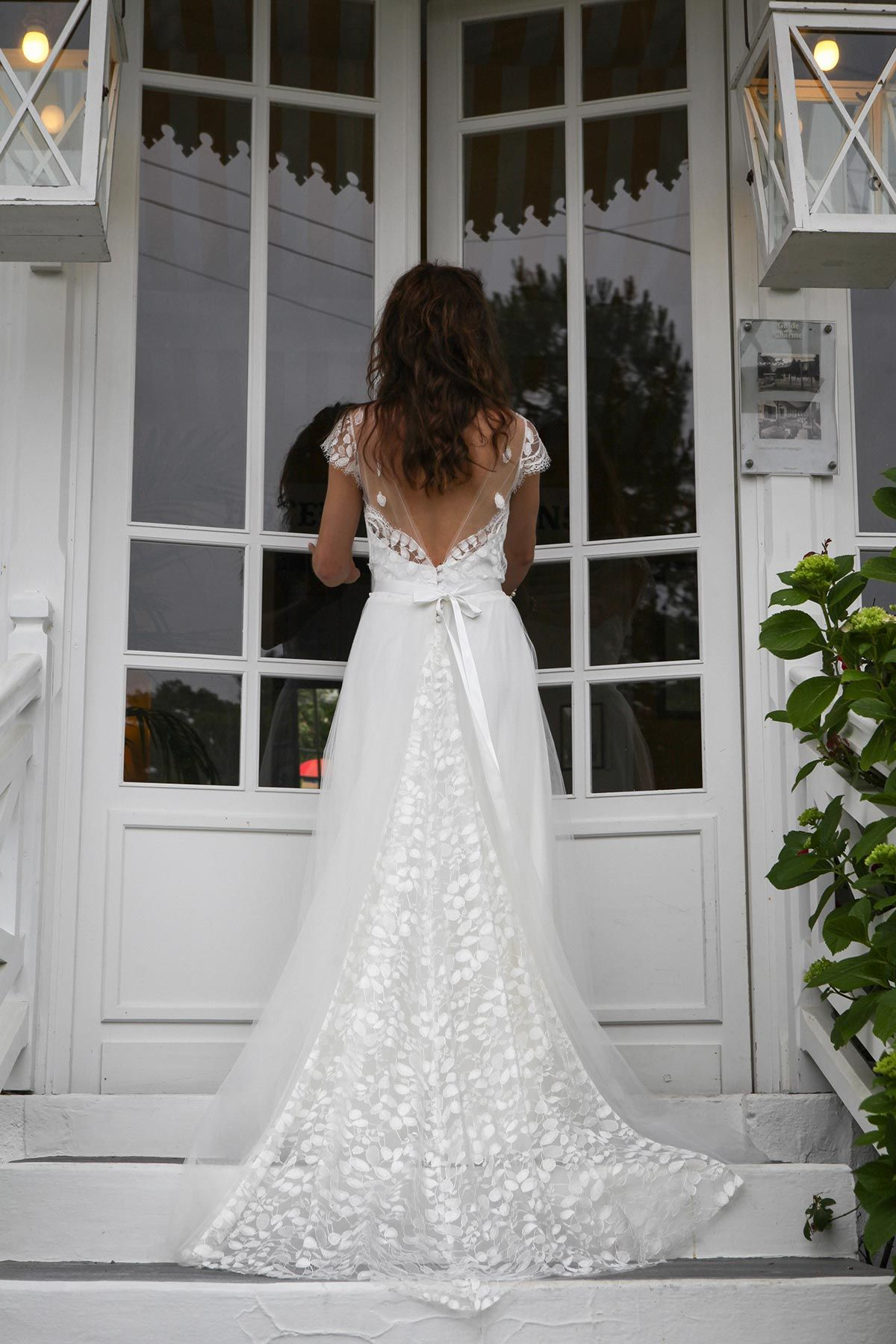 collection 2016 marie laporte the back of that dress is just perfect wedding dresses