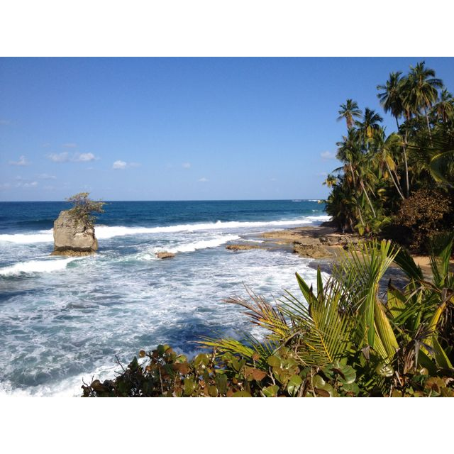 Costa Rica - Manzanillo beach hike view