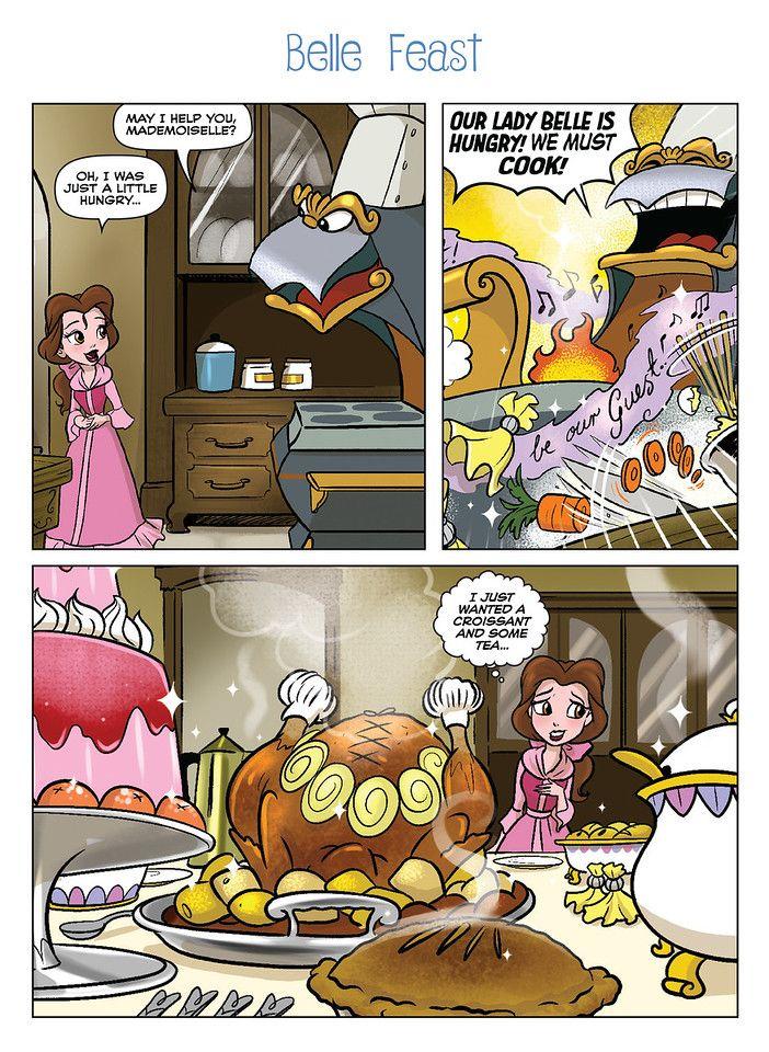 New Disney Princess Comics Collection Now Availabl