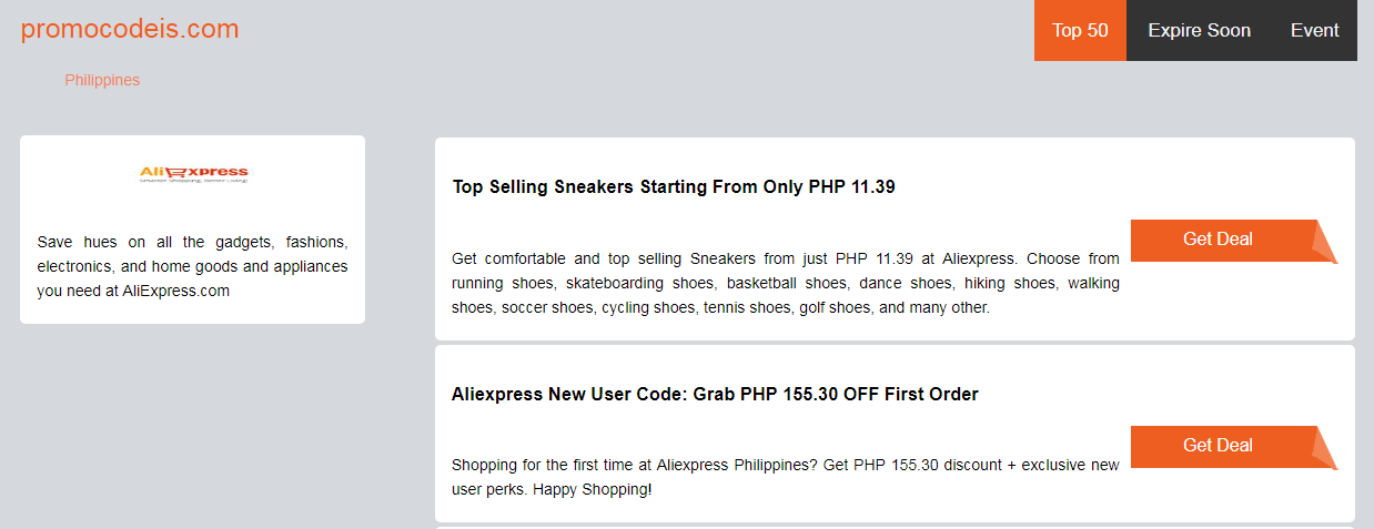 Ali Express Promo Voucher Discount Coupon Code Philippines May 2019 Promocodeis Com Aliexpress Discount Codes Coupon Coupons