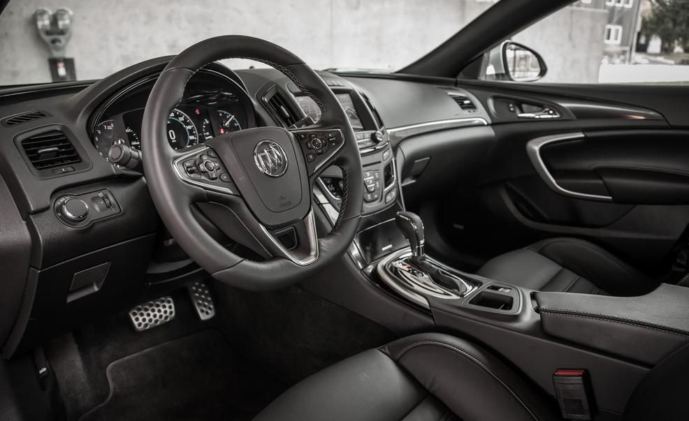 2017 Buick Regal Interior Black