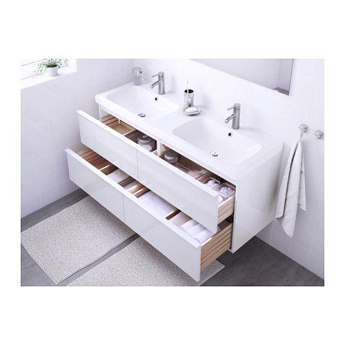Godmorgon / odensvik | High gloss, Sinks and Drawers