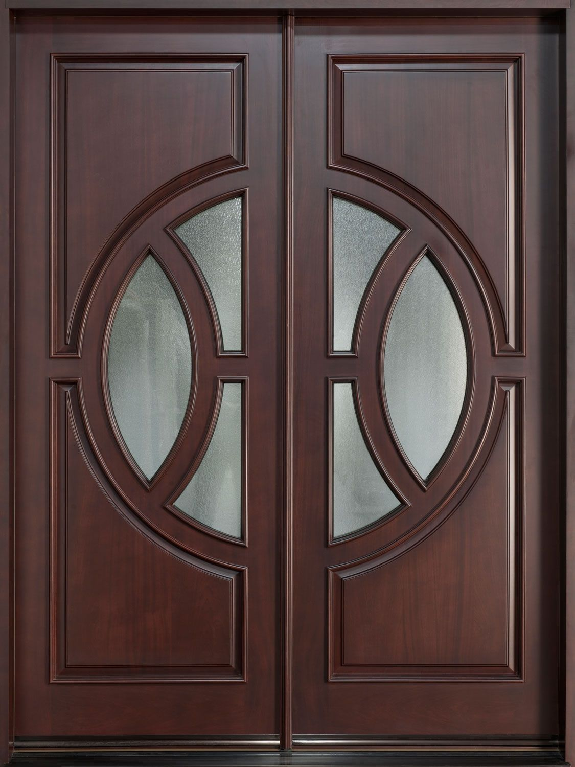 Elegant Double Entry Doors With Side Light Google Search