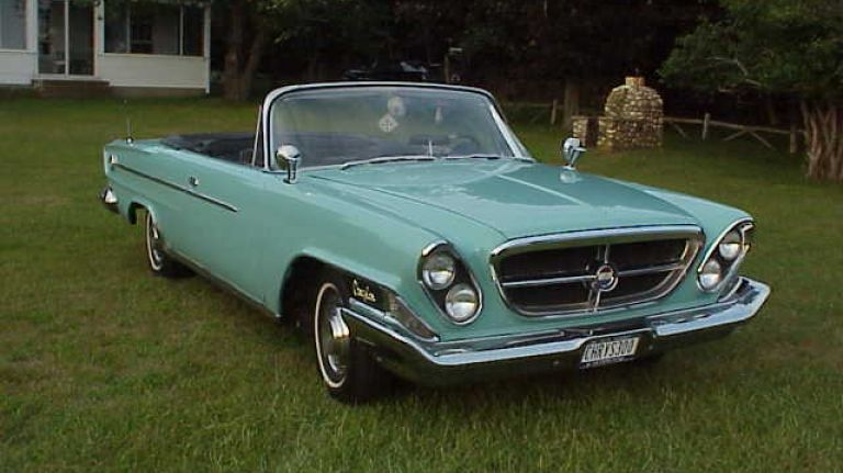 In the Garage: 1962 Chrysler 300 Sport convertible