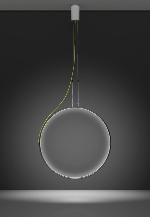 The Eclipse light for Artemide by Anna Neklesa via Behance