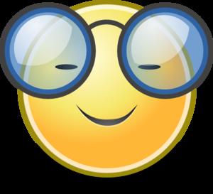 face glasses clip art vector clip art online royalty free rh pinterest com Free Clip Art Smiley Faces Emotions Smiley Face Clip Art Outline