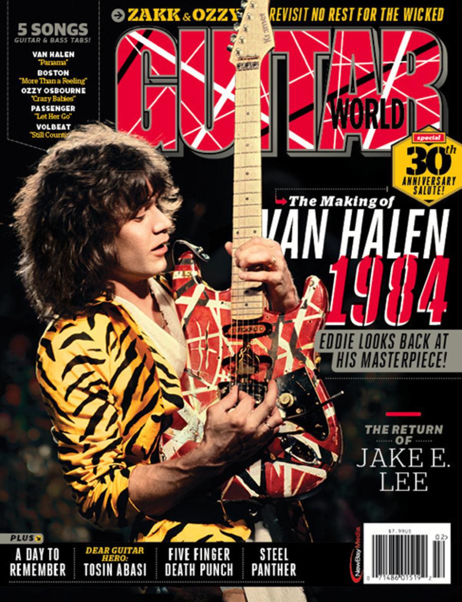Photo Gallery Eddie Van Halen Guitar World Covers Throughout The Years Van Halen Eddie Van Halen Halen