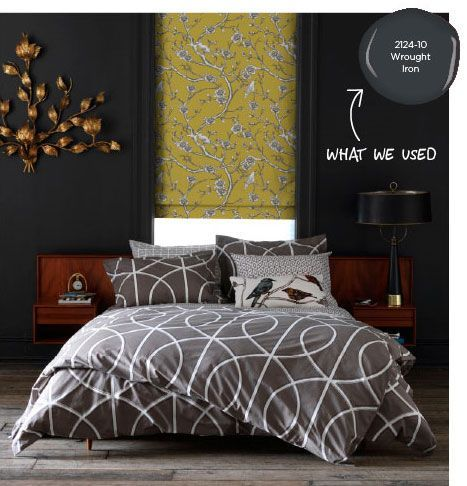 Image Result For Benjamin Moore S Wrought Iron Gray Living Room Dwell Studio Bedding Modern Duvet Covers Bed Duvet Covers