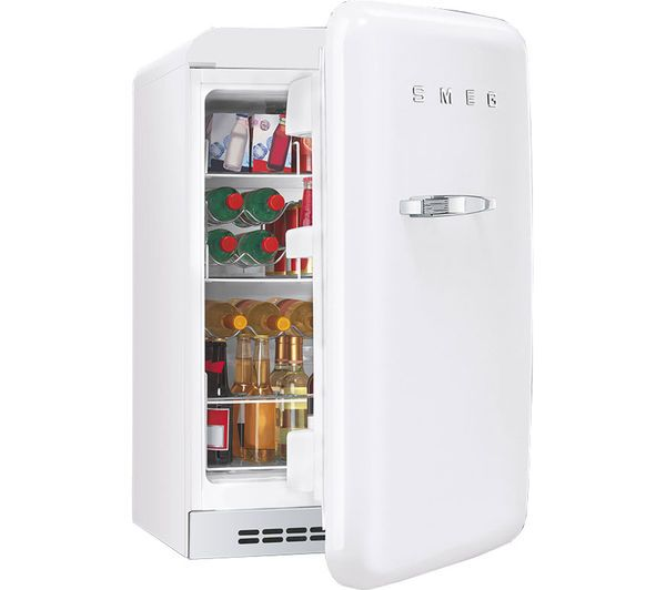 Smeg Fab10hrb Mini Fridge White In 2020 Mini Fridge Smeg Mini