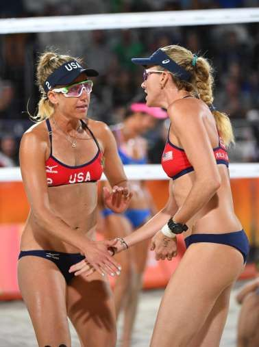 ba4da193b7e Why do women wear bikinis to play beach volleyball  - August 12