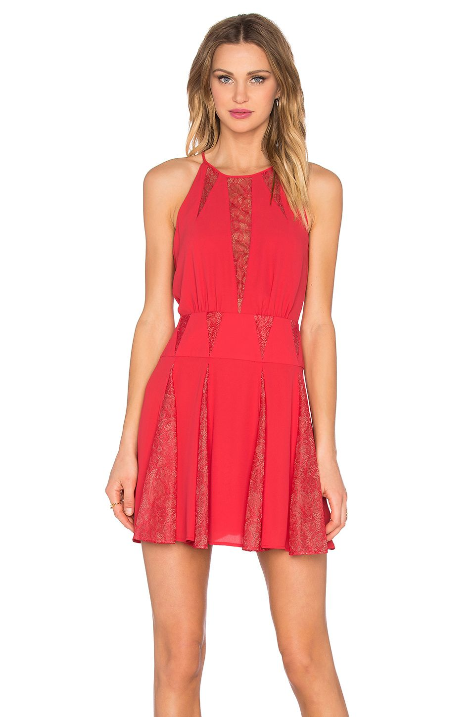 BCBGMAXAZRIA Teena Dress in Lipstick Red | Nothing to Wear and No ...