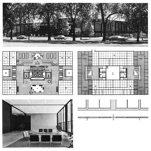 School of Social Service Administration 1965|Mies van der Rohe