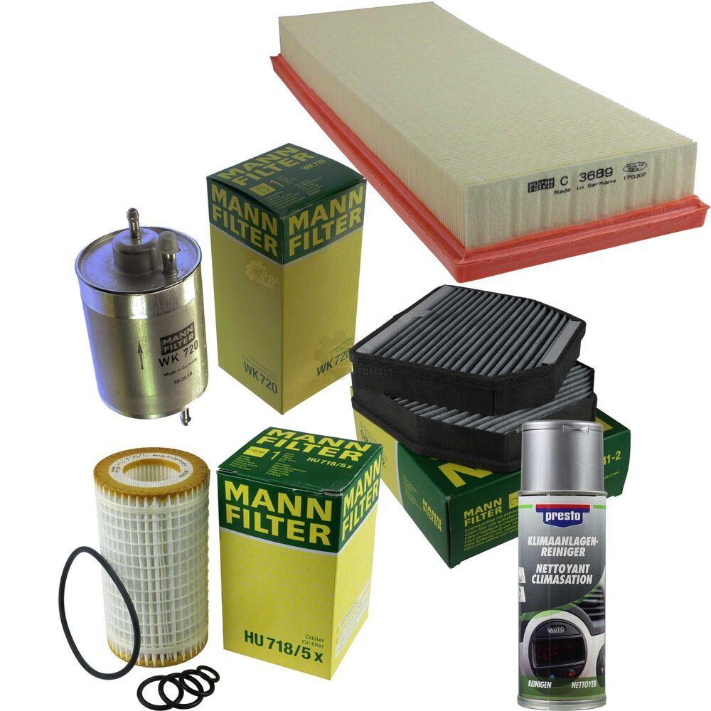 Mann Filter Filtre Paquet Presto Klima Reiniger Pour Mercedes Benz Classe G Classe G Filtre Auto