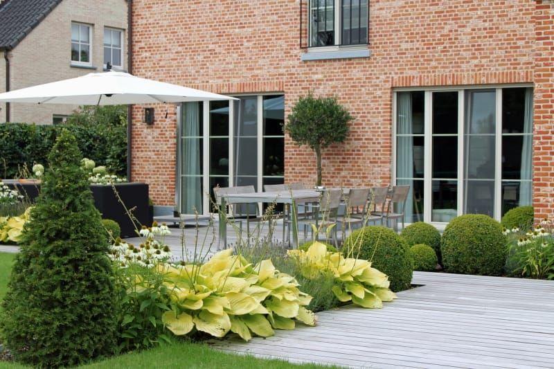 Project mt lokeren verde tuinarchitectuur projecten op maat
