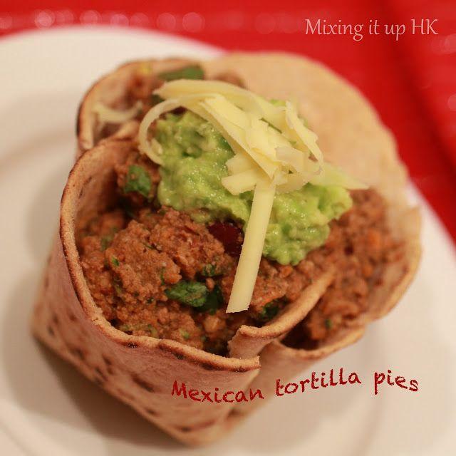 Mexican tortilla pies | Tortilla pie, Thermomix recipes ...