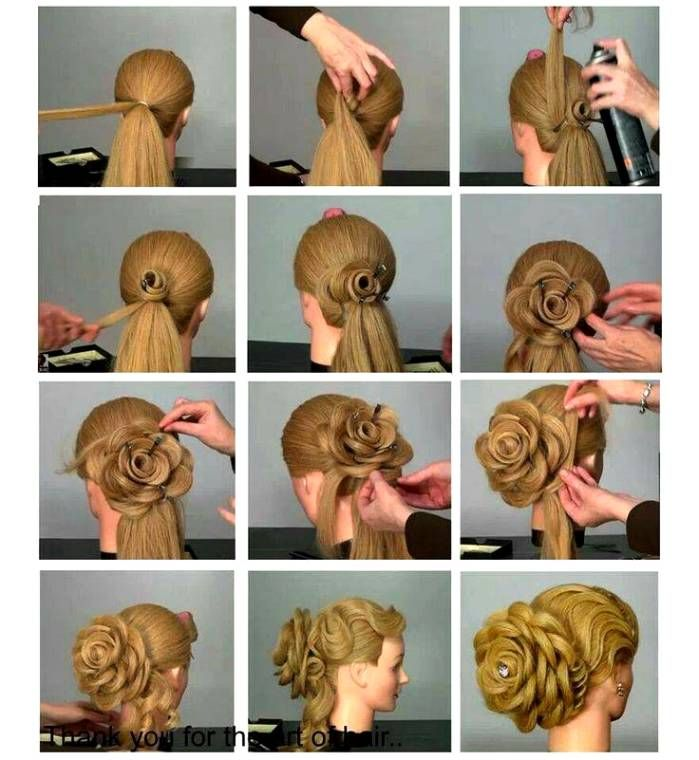 How To Do Bridal Hairstyles Step By Step Google Search