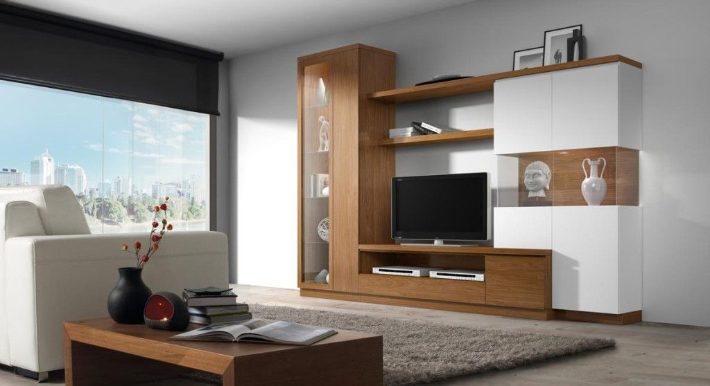 full wall entertainment unit with doors - Google Search muebles
