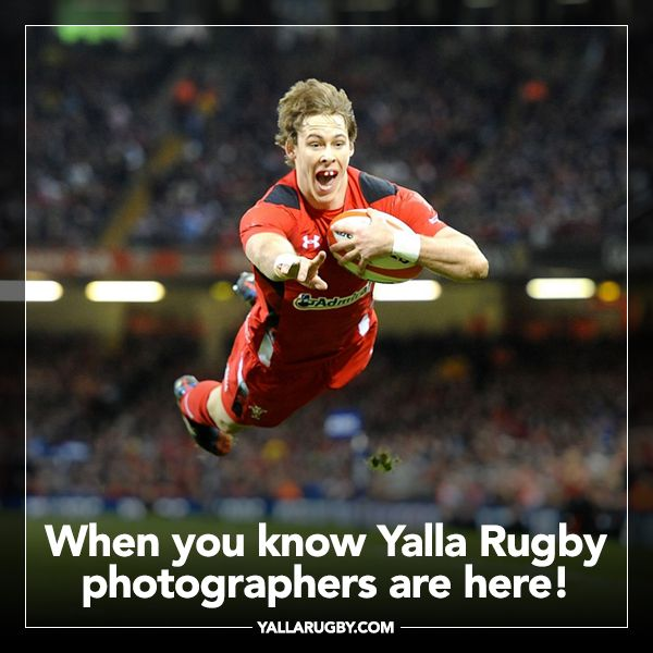 When You Know Yalla Rugby Photographers Are Here Rugby Memes Liam Williams Rugby