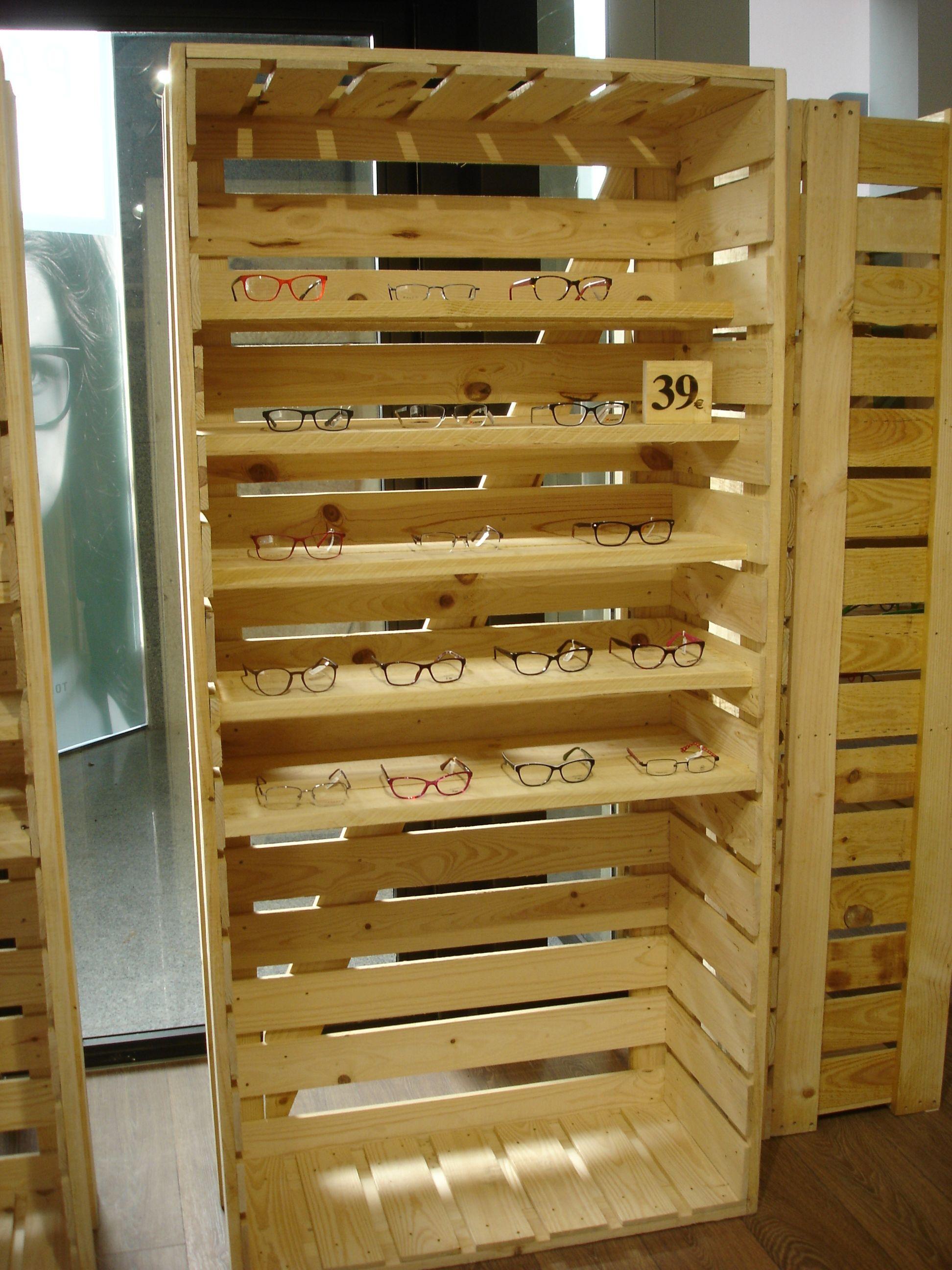 Expositor gafas en madera embalaje  Ideas para el hogar